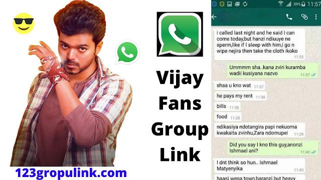 Join 300+ Vijay Fans Whatsapp Group Links 2020