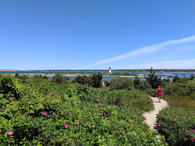 Walking to the Edgartown Lighthouse
