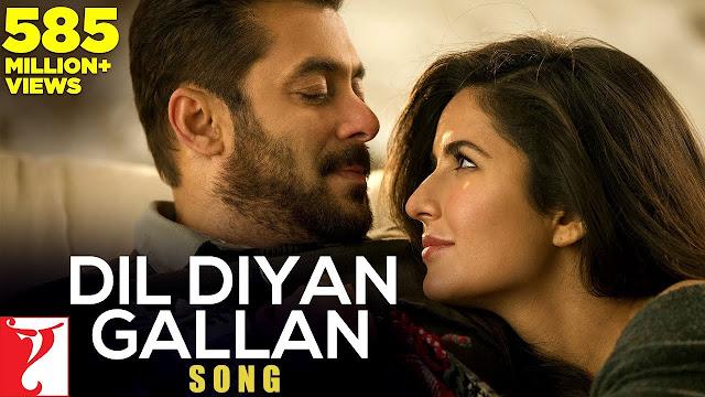 Dil Diyan Gallan lyrics - Tiger Zinda Hai