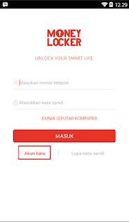 Cara Mendapatkan Pulsa Gratis Dari Aplikasi Money Locker