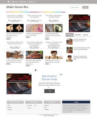 template google adsense SEO