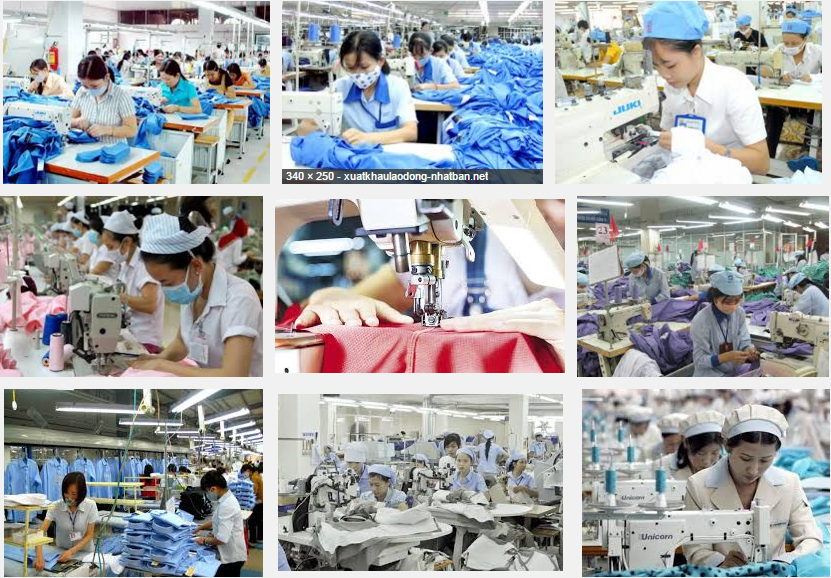 Xuất khẩu lao dộng nhật bản – Làm: May Công nghiệp - Tỉnh Yamagata số lượng 2 nữ