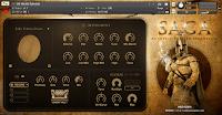 Saga Acoustic Trailer Percussion v1.1 KONTAKT Library