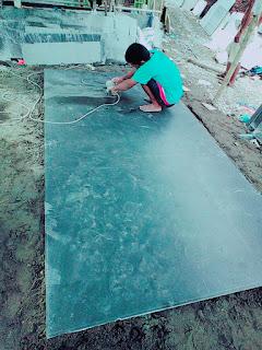 jasa pasang marmer granit