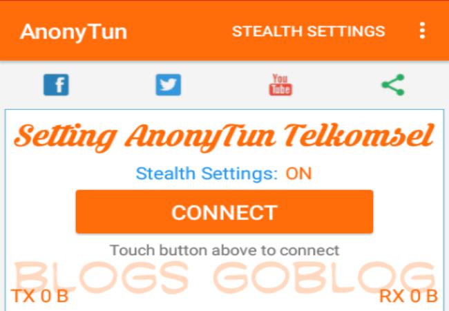 Cara Setting AnonyTun Kartu Axis Hitz Untuk Internet Gratis Terbaru