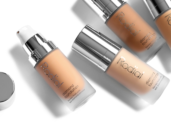 Rodial Diamond Foundation Packaging Pump