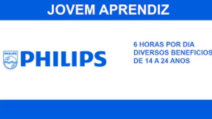 Philips abre inscrições para vagas de Jovem Aprendiz em 2021; Veja os benefícios e como se inscrever .