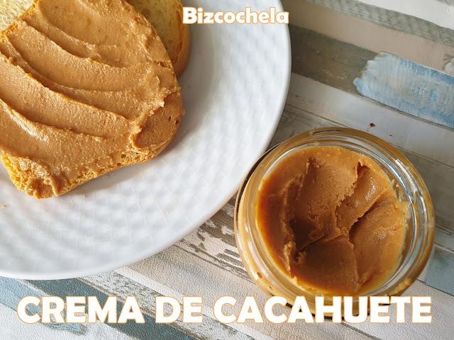 Crema O Manteca  De Cacahuete  (o Maní ) Casera