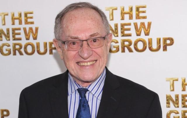 Alan Dershowitz Hired as Harvey Weinstein Consultant