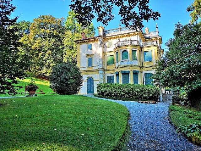 Villa Pallavicino sul Lago Maggiore, immersa nel parco