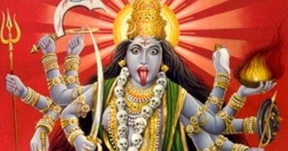 Story of Goddess Kali Demon Raktabija   Hindu Devotional Blog
