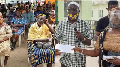 Benson Donates Cash Gifts To 120 Traders In Ikorodu