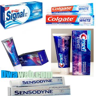 ينصح باستخدام معجون الأسنان المبيض دائما للحصول على نتيجة دائمة