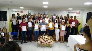 Prefeito de Picuí empossa novos servidores aprovados no último concurso público