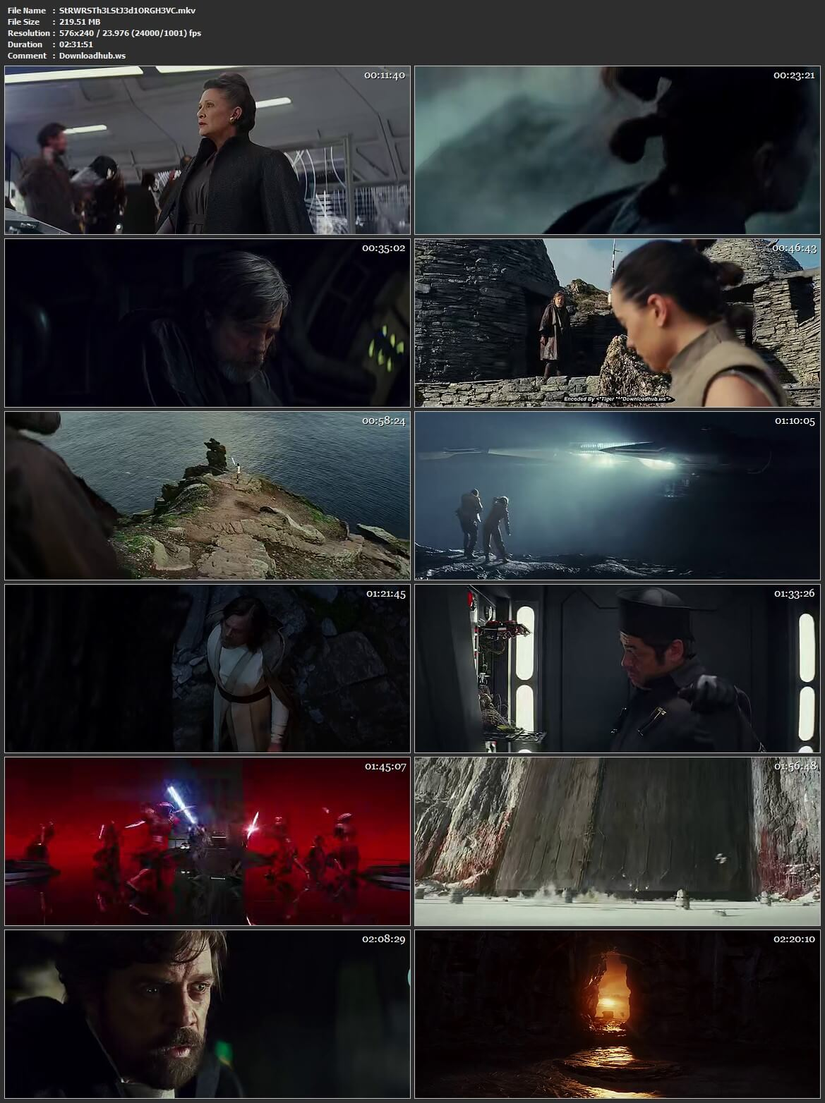 Star Wars The Last Jedi 2017 Hindi Dual Audio HEVC Mobile BluRay Free Download