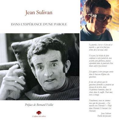 Jean Sulivan Dans l'espérance d'une parole