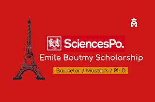 France Emile Boutmy Scholarship for Bachelor's, Master's and PhD studies, fully funded 2021