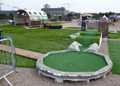 Golf Apocalypse crazy golf course in London