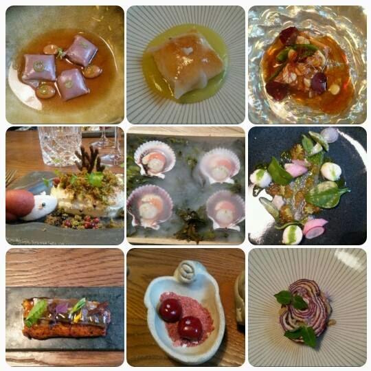 Platos menú, restaurante Dstage