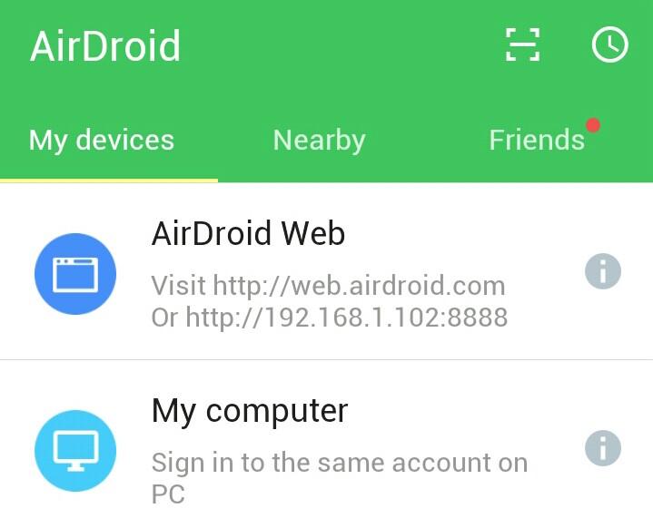 Quản lý các thiết bị android hiệu quả bằng AirDroid