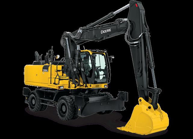 John Deere Excavators 230G W