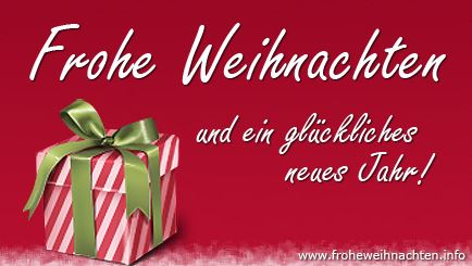 Christmas Greetings in German