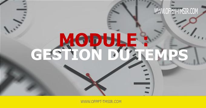 MODULE : Gestion Du Temps