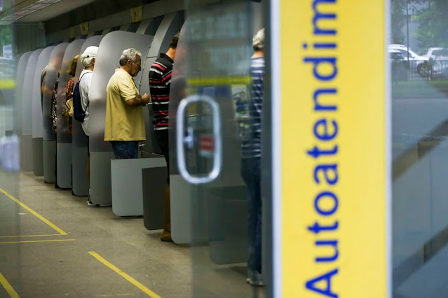 Bancários do Banco do Brasil paralisam atendimento nas agências nesta quarta-feira na Paraíba