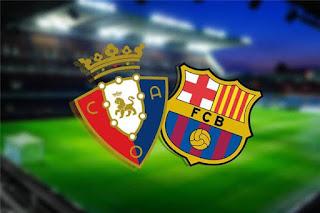 مشاهدة مباراة برشلونة وأوساسونا اليوم 2020/7/16 في الدوريالاسباني