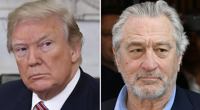 Robert De Niro Bashes Trump Again: 'Down With This Motherf—er!'