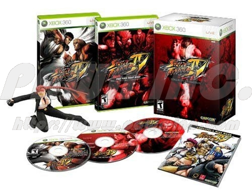 XBOX 360 Street Fighter IV - Collector's Edition