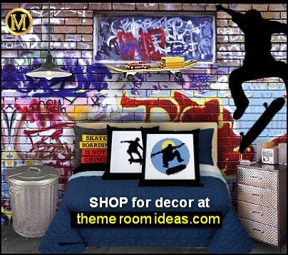 graffiti  teenage bedroom graffiti wallpaper graffiti walls graffiti mural graffiti bedding skaters Urban style