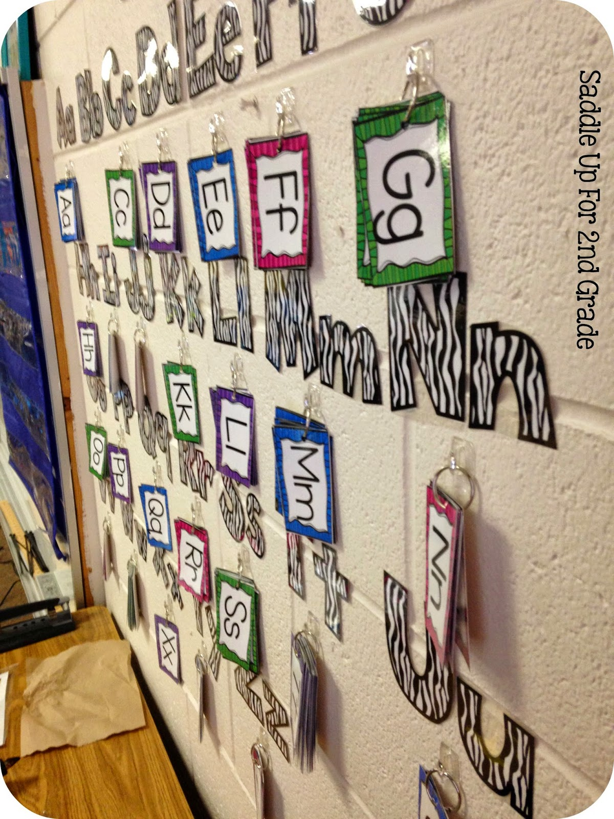 Interactive Word Wall By Saddle Up For 2nd Grade