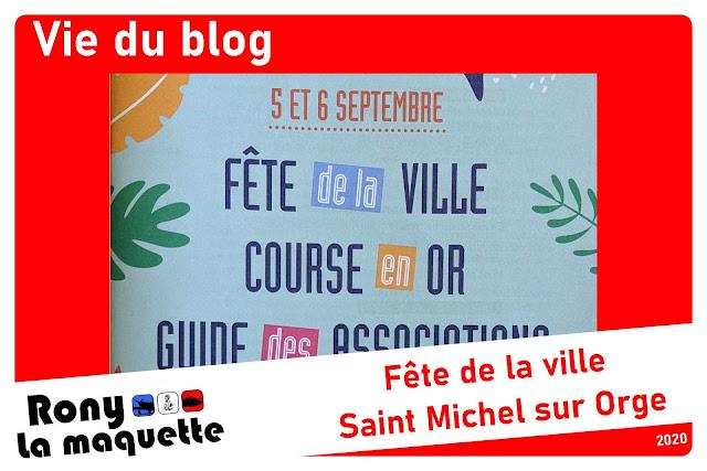 Fête de la ville et des associations de St Michel sur orge (91).