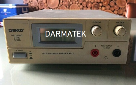 Darmatek Jual DEKKO PS-3030Q Adjustable Switching Power Supply