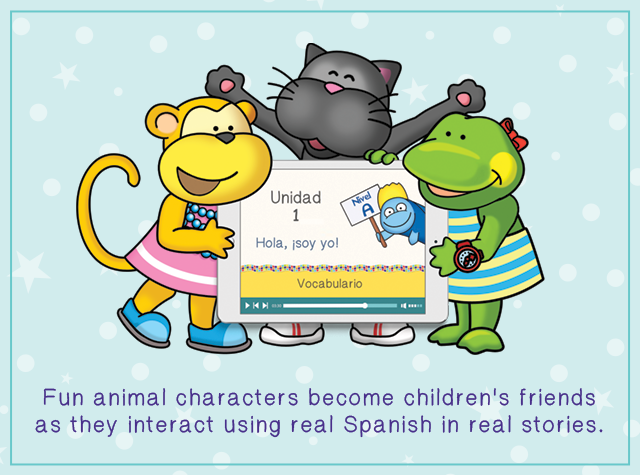 Calico Spanish online program for elementary