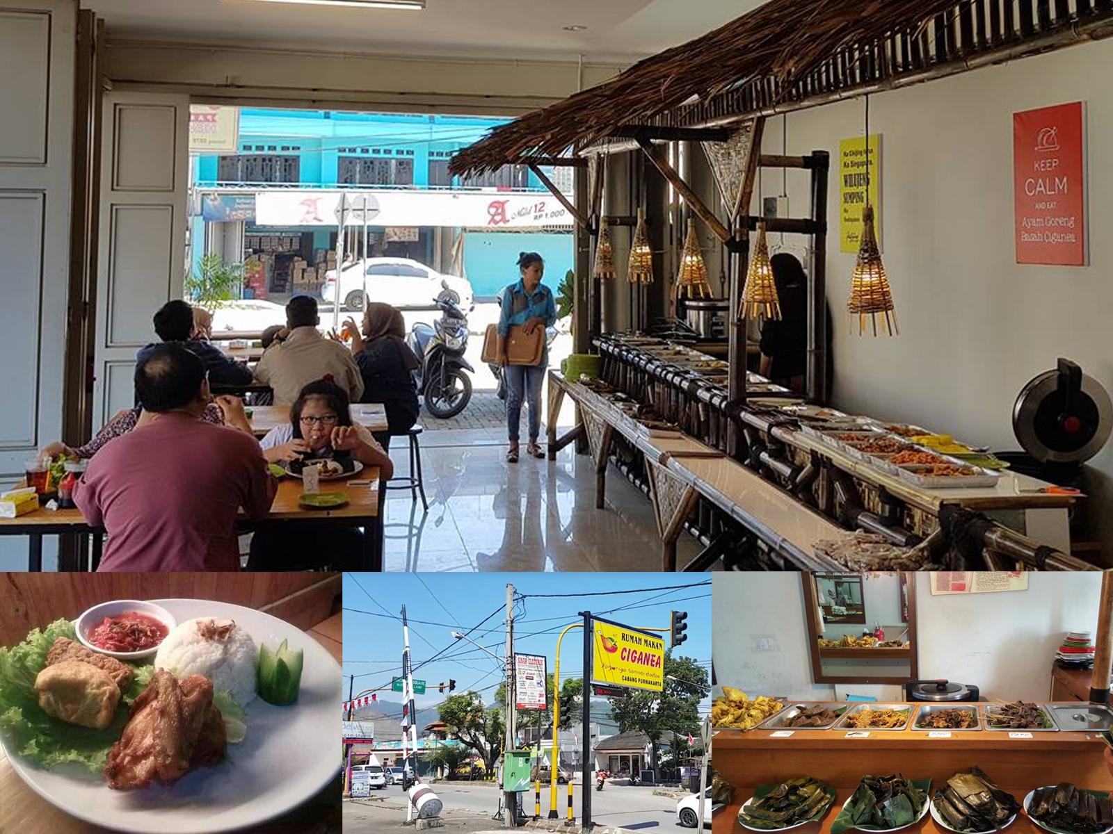 Rumah Makan Ciganea Bojongsoang Simpang Siliwangi