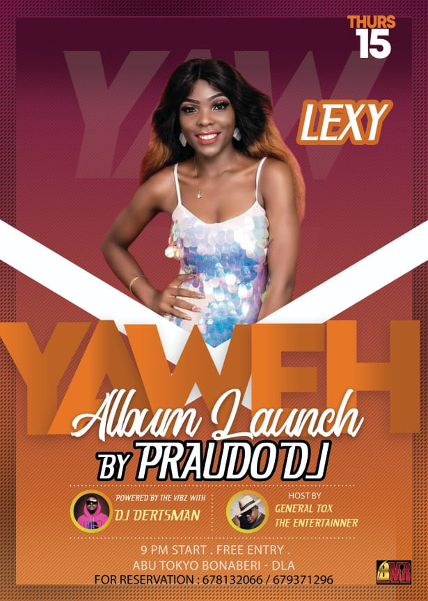 "[Entertainment]: DJ Praudo announces the official release of  his Second Studio Album titled ""YAWEH""."