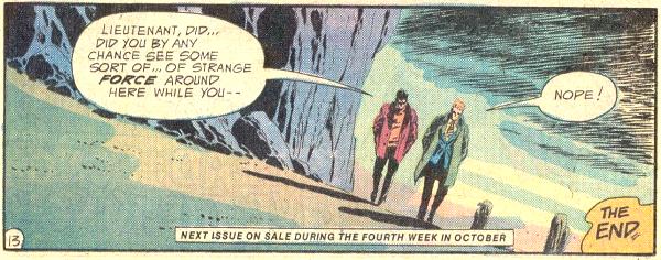Weird Adventure Comics #436, Nope