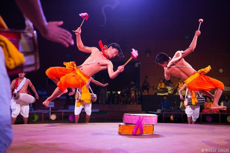 Pung Cholom Folk Dance From Manipur