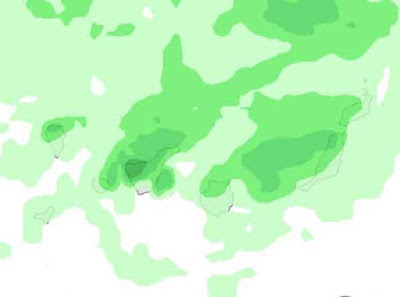 Viento, bajada temperaturas y lluvia Canarias, marzo 2017