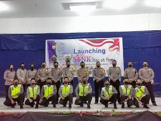 Sat Lantas Polres Parepare Gelar Launching STNK Stay at Home