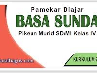 Kisi Kisi Soal PAS B. Sunda Kelas 4 Semester 1 K-13 Th. 2019