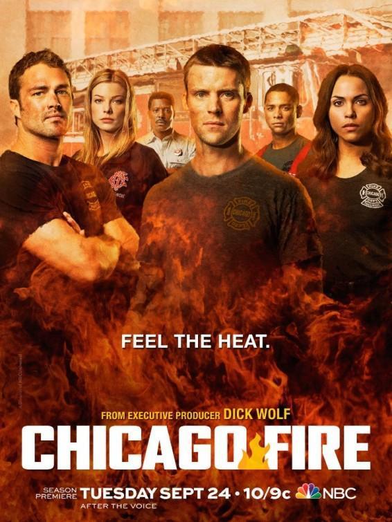 Chicago Fire Temporada 1 a la 8 Dual Latino/Ingles 720p