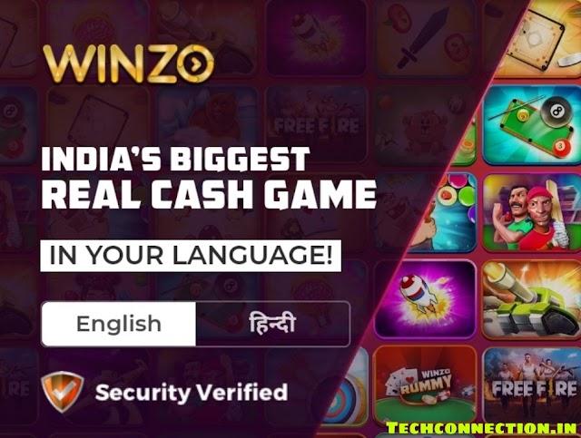 Winzo Game खेल कर पैसे कैसे कमाएं। हिन्दी में पूरी जानकारी। techconnection