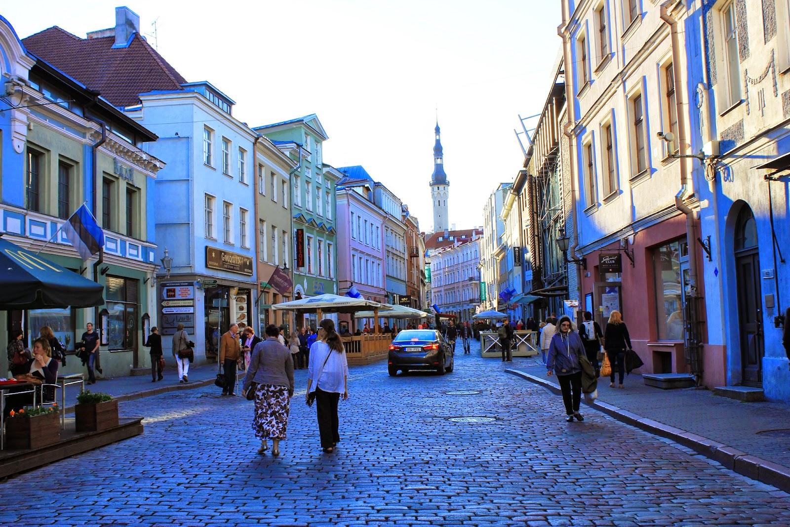 Rynek w Tallinnie
