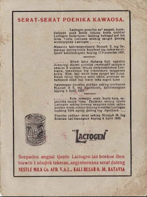 Iklan Bahasa Jawa Susu Lactogen