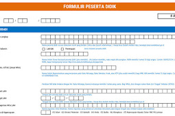 Download Formulir Peserta Didik Dapodik Tahun 2018