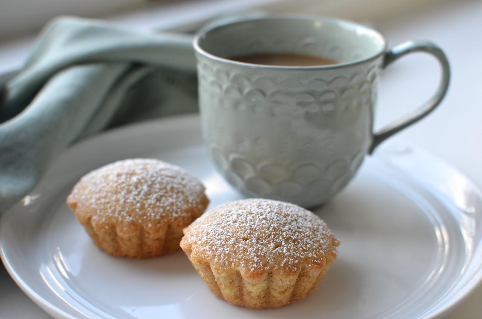 Playing With Flour Chestnut Cream Tea Cakes