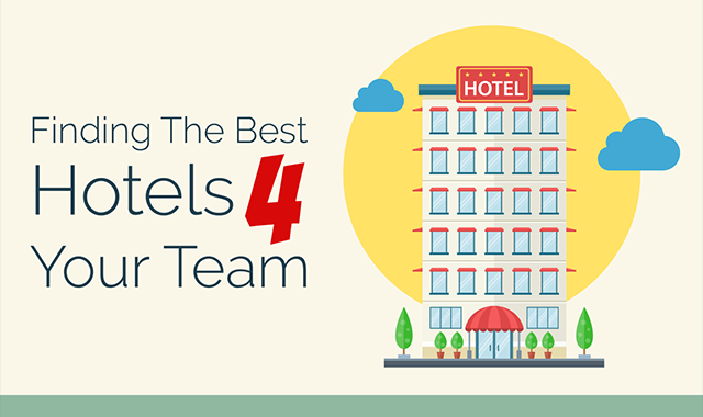 Finding the Best Hotels for Your Team #infographic